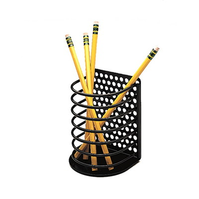 Fellowes Pencil Holder , Perf-Ect, Black - Part Number: 9301-00110
