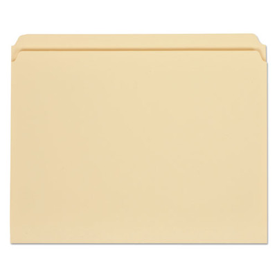Universal File Folders, 1/3 Cut Assorted, One-Ply Top Tab, Letter, Manila, 100/Box - UNV12113 - Part Number: 9311-02102