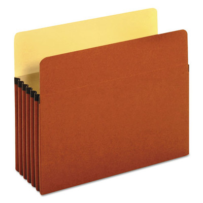 Universal 5.25 inch Expansion File Pockets, Straight Tab, Letter, Redrope/Manila, 10/Box - UNV15262 - Part Number: 9311-03101