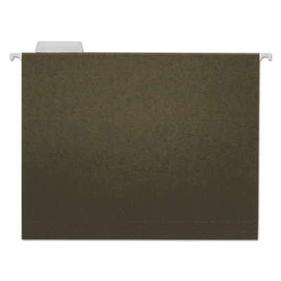Universal Hanging File Folders, Letter, 1/5 Tab, Standard Green, 25/Box - UNV14115 - Part Number: 9311-03103
