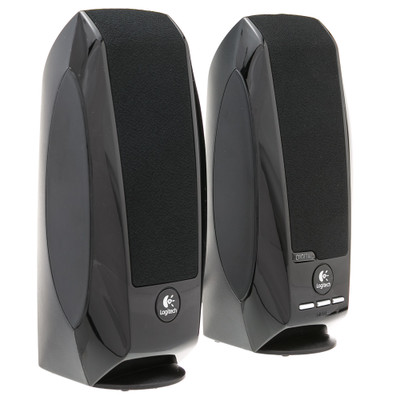Logitech 980-000028 S-150 2.0 Speaker System - 1.2 W RMS - Black - Part Number: 980-000028