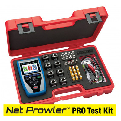 Platinum Tools Net Prowler PRO Test Kit. Box. - Part Number: TNP850K1