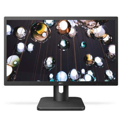 AOC 20E1H, 19.5 inch HD+ LED LCD Monitor, HDMI and VGA Input - Part Number: AOC20E1H