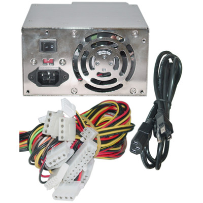 Dual Fan Power Supply Switch ATX 350 Watt, Retail box - Part Number: ATX-P4350W
