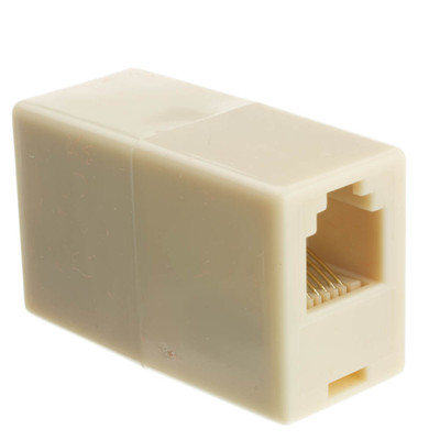 Inline Telephone Coupler (Voice), RJ12, 6P/6C - Part Number: MC-6P6C-RE