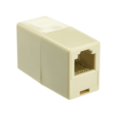 Inline Telephone Coupler (Data), RJ12, 6P / 6C - Part Number: MC-6P6C-ST