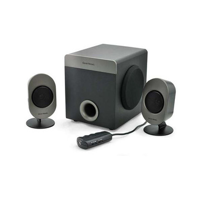 Gear Head SP3750ACB 2.1 Speaker System - 16 W RMS - 30 Hz - 20 kHz - Part Number: SP3750ACB
