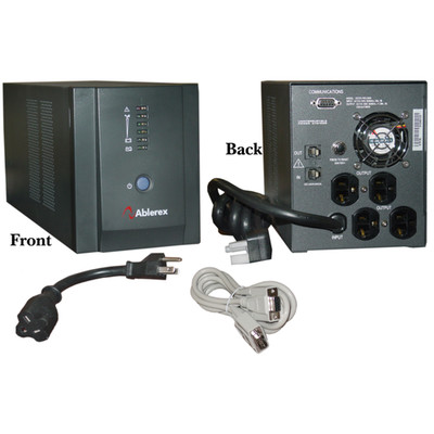 Vesta Pro 2000 UPS, Black, 2000 VA (Volt Amps) / 1080 Watt, Uninterrupted Power Supply - Part Number: 91W1-02000